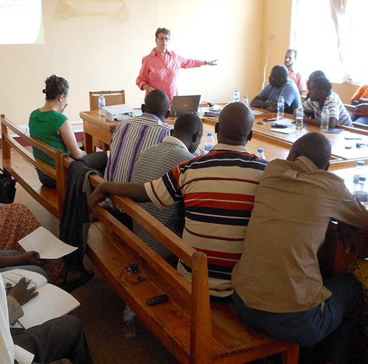 Teaching Infection Prevention & Control (IPC) in Rwanda